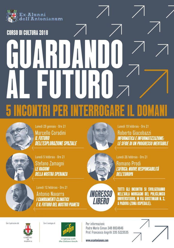 38° Corso di cultura 2018: Guardando al futuro