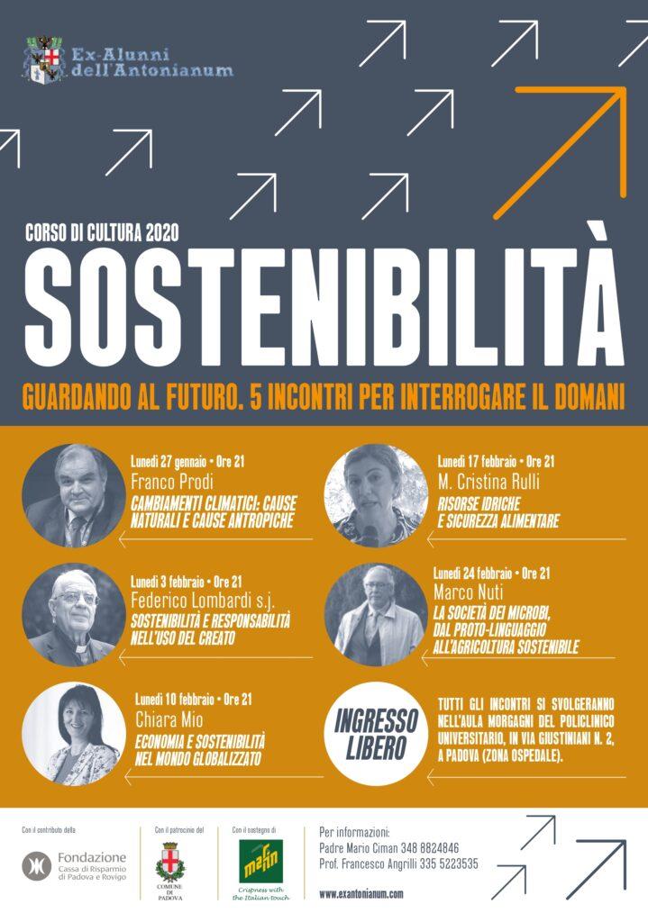 40° Corso di cultura 2020: La sfida della sostenibilità